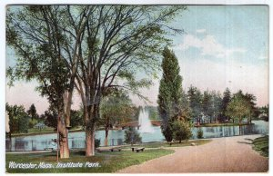 Worcester, Mass, Institute Park