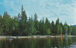 Canada British Columbia Sicamous Mara Lake Resort