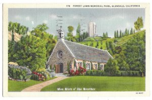 Los Angeles, California to Milwaukee, Wisconsin 1939 Forest Lawn Memorial Park