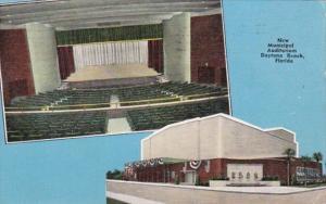Florida Daytona New Municipal Auditorium 1951