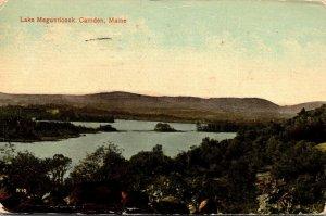Maine Camden Lake Megunticook 1910