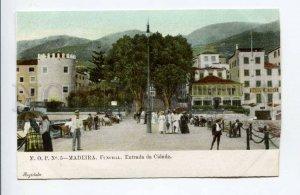 424421 PORTUGAL MADEIRA Funchall Entrada da Cidade City entrance OLD postcard