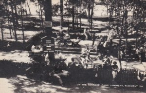 Pennsylvania Tamiment On The Terrace Camp Tamiment Artvue sk3241