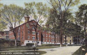 New Hampshire Hospital, Concord, New Hampshire, PU-1909