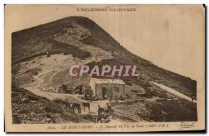 Old Postcard Le Mont Dore Summit of Puy de Sancy (1886m of all) Donkey Donkey