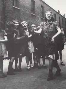 Bill Brandt Girls Training Corps Upskirt  WW2 Comic RPC Postcard