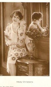 mADY cHRISTIANS. Actress Old vintage German postcard