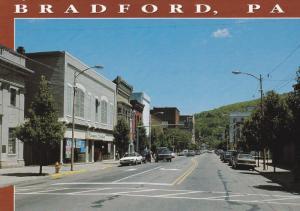 Main Street, Furniture Store, Classic Cars, U.S. Route 219, BRADFORD, Pennsyl...