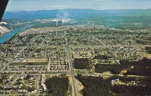 Aerial view,  Prince George,  B.C.,  Canada,  40-60s