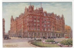 Midland Hotel Manchester Lancashire United Kingdom UK 1910c Tuck postcard