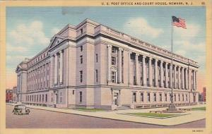New Jersey Newark U S Post Office And Court House 1941
