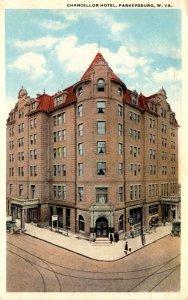 West Virginia Parkersburg Chancellor Hotel 1920