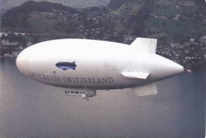 White SkyCruise Switzerland Blimp, Airship PC #7
