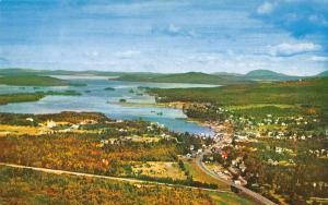 Greenville Maine Moosehead Lake Aerial View Vintage Postcard JA4741433