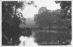BR93533 the lake castle ashby  uk real photo