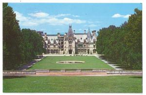 Biltmore House & Gardens Asheville NC From Rampe Douce