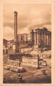 BR93374 roma colonna di foca foro romano italy