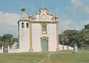 Porto Seguro Our Lady Of Helps Church Brazil Postcard