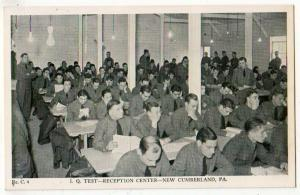 I.Q.Test, Reception Center, New Cumberland PA