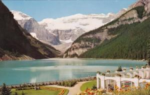 Canada Lake Louise Mount Lefroy and Victoria Glacier From Chateau Lake Louise...
