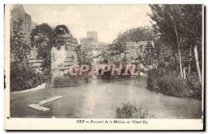 Old Postcard Fez Rempart De La Makina and L & # 39Oued Fez