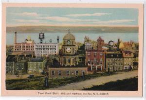 Town Clock & Harbour, Halifax NS