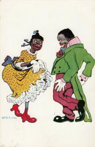 AS UOBER, PU-1908; Couple Dancing # 2
