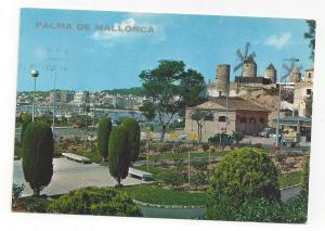 Majorca Spain Palma de Mallorca El Jonquet Balearic Islands Vtg Postcard 4X6