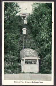 Fenlon Place Elevator Dubuque IA Postcard BIN