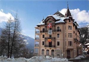 Switzerland Hotel Le Bristol, Finhaut Valais Gasthaus Pension