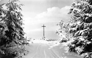 Bad Harzburg Das Kreuz des Deutschen Ostens Cross Winter Croix