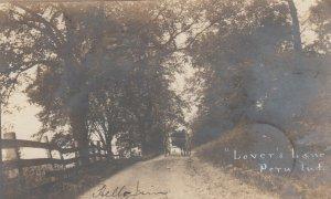 RP; PERU , Indiana , 1906 ; Lover's Lane