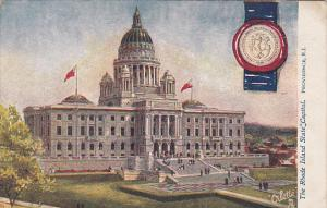 PROVIDENCE, Rhode Island, 1900-1910's; The Rhode Island State Capitol