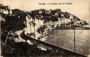 CPA MARSEILLE La Corniche anse du Prophete (405119)