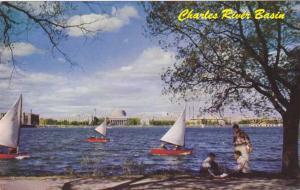 MIT across Charles River Basin - Boston MA, Massachusetts