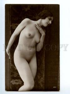 129063 NUDE Woman BELLE Vintage Real PHOTO GA #207 PC