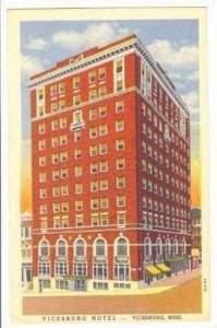 Vicksburg Hotel, Vicksburg, Mississippi, 30-40s