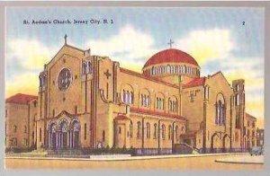 NJ Jerset City St Aedans Church