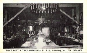 Vermont St Johnsbury Roy's Bottle Tree Antiques
