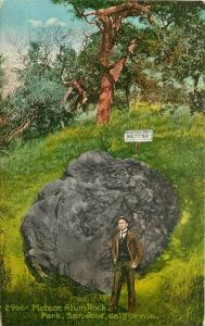 Alum Rock Park Artist Impression C-1910 Santa Clara California Meteor 1347