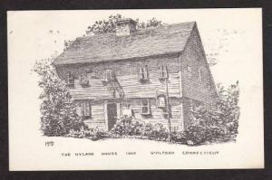 CONNECTICUT CT GUILFORD Hyland House CONN Postcard PC Connecticut