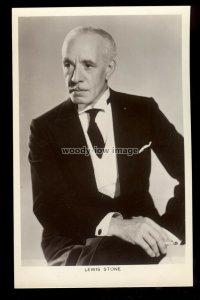 b1634 - Film Actor - Lewis Stone - Picturegoer No. 27c - postcard