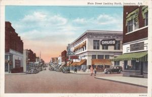 Main Street , looking North , JONESBORO , Arkansas , PU-1941