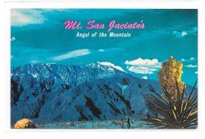Angel of the Mountain Mt San Jacinto CA Vintage Ferris H Scott Postcard