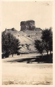 Green River Wyoming Castle Rock Real Photo Antique Postcard K77899
