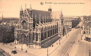 Bruxelles United Kingdom, Great Britain, England Eglise Notre Dame du Sablon ...