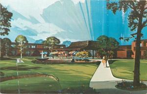 Sheraton Motor Inn Galesburg Illinois IL Postcard