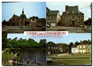 Postcard Modern Paper Changeon The church The mayor of The pond Changeon Place