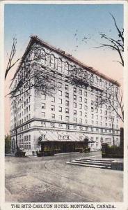 The Ritz Carlton Hotel, Montreal, Quebec, Canada, 1910-1920s