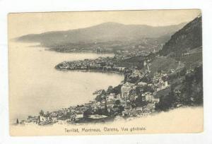 Vue Generale, Territet, Montreux, Clarens, Switzerland, 1900-1910s